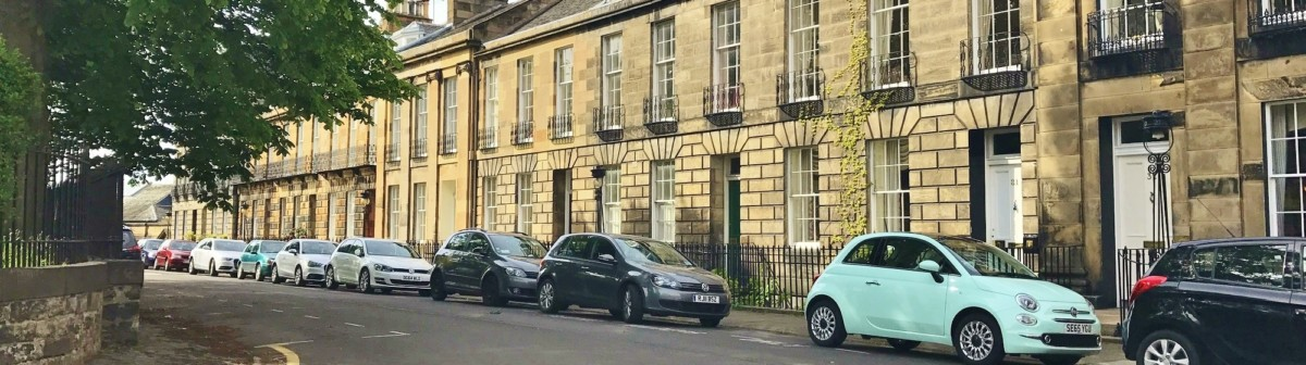 Mint car summer edinburgh